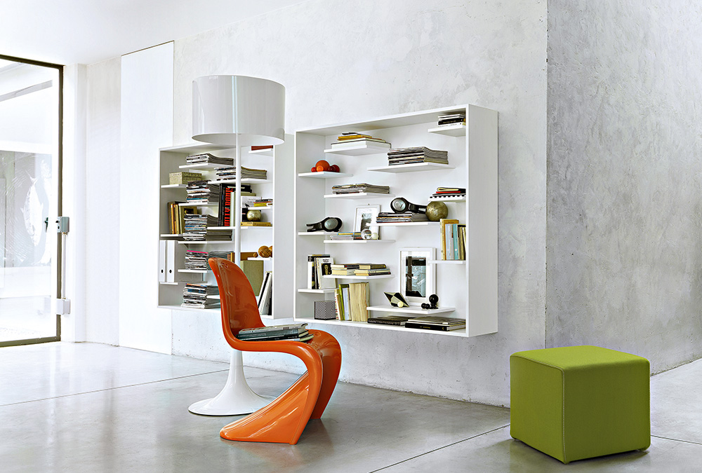 Libreria Shift Pouf